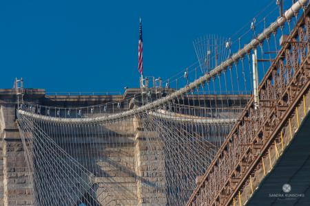 New York,  New York City, Brooklyn Bridge